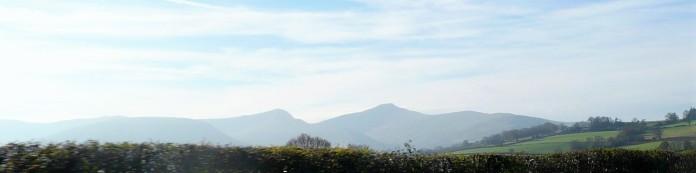 ? PEN-Y-FAN (886M) and GWAUN RHUDD (746M)