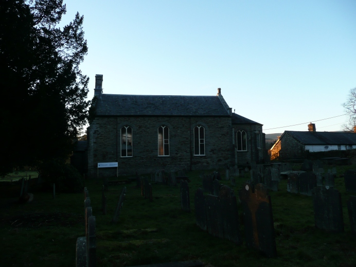 Church of St Michael, Eglwys Fach.