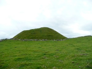 Norman Motte built on pre-existing Roman site at Toman-y-mur. (Walled heap)