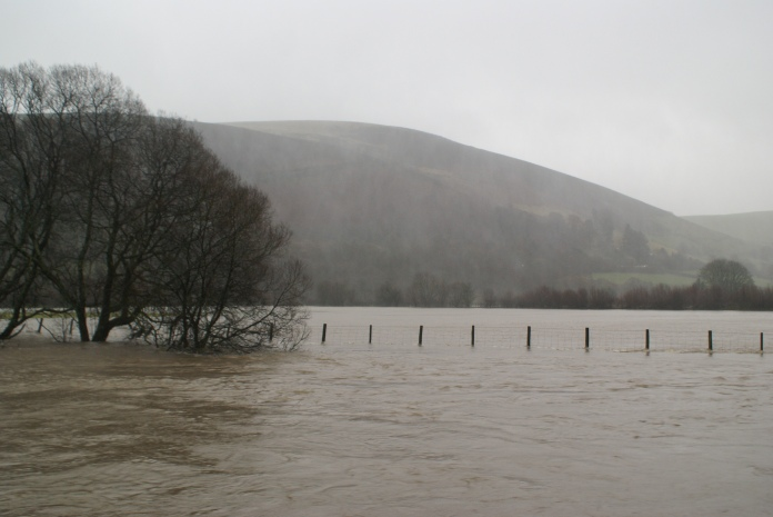 Wye Valley about 6 miles from source